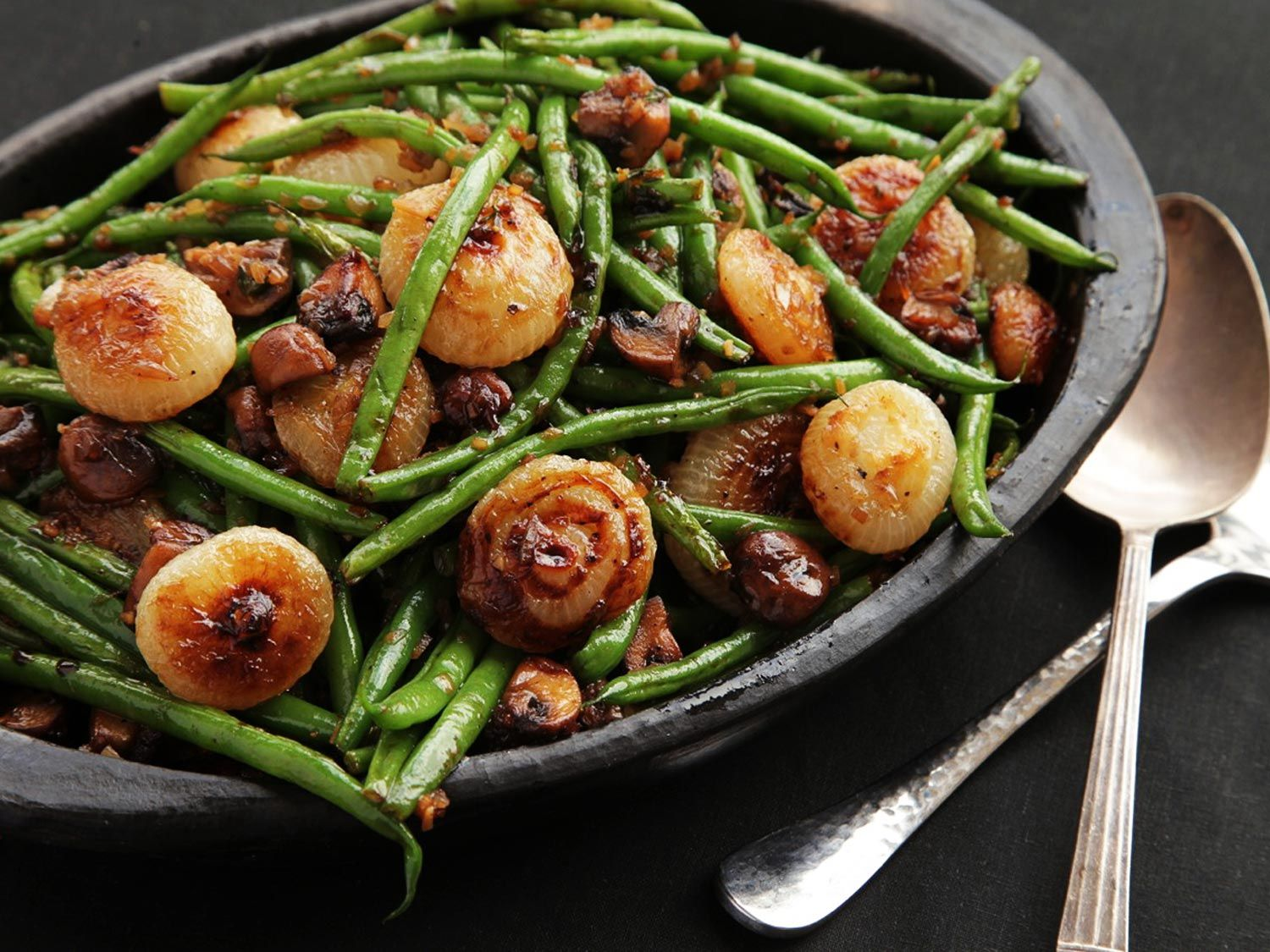 The Food Lab: Sautéed Green Beans With Mushrooms and ...