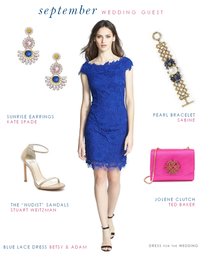 Blue Lace Tail Dress