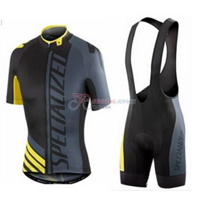 Specialized Cycling Jersey Kit Short Sleeve 2016 Yellow Black ... e837647ad