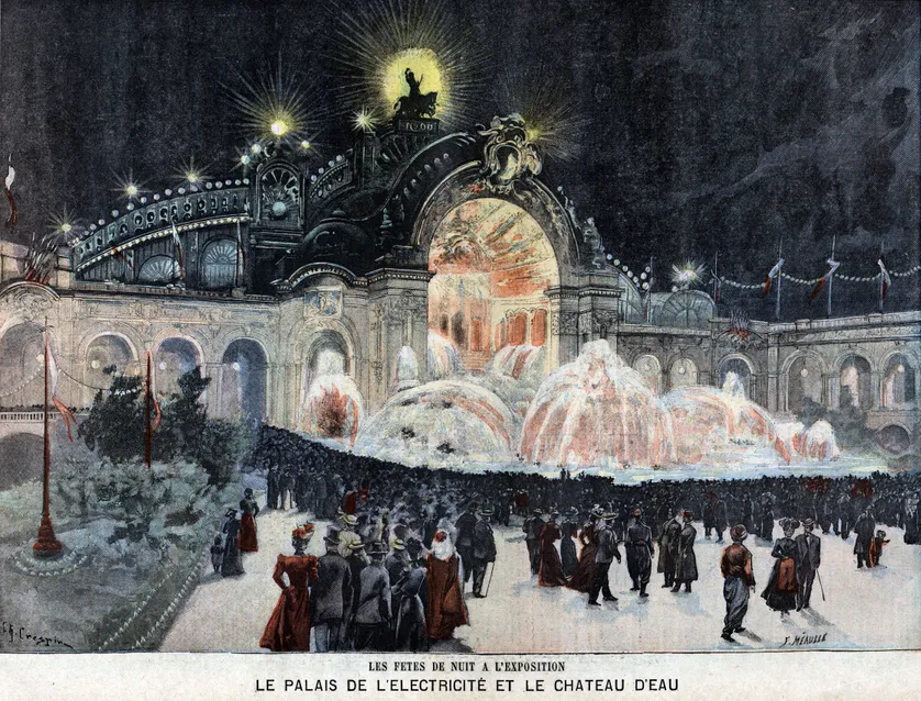 Les Marches De L Electricite 2 4 Une Histoire Electrique Illustration Parisienne La Fee Electricite Electricite