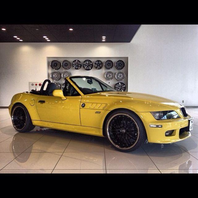 Bmw Z3 Yellow: Zoooom.. Bimmer Z3