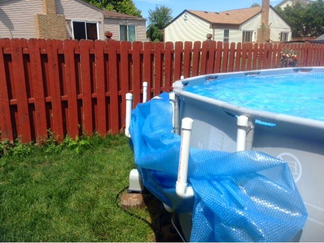 Love Of Lilacs Pvc Solar Cover Holder With Directions Pvc Pool