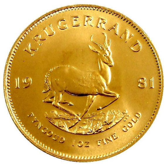 Gold Krugerrand From South Africa By Sgbullion On Etsy 1 10 Oz To 1 Full Oz Available Gold And Silver Coins Gold Krugerrand Gold Coins