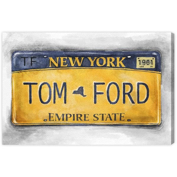 Oliver Gal New York New York Canvas Wall Art ($204) ❤ liked on ...
