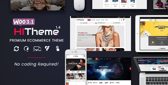 HiTheme - Most Customizable WooCommerce WordPress Theme (Mobile ...