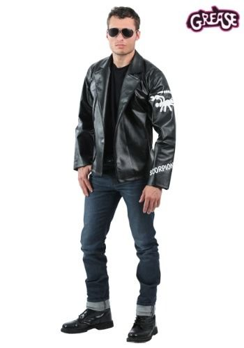 Become Danny Zuko\u0027s rival in the Grease Men\u0027s Scorpions Jacket Get - 2016 mens halloween costume ideas