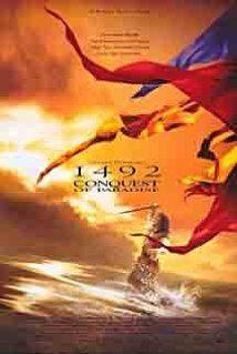 """1492: Conquest of Paradise (1992) — прекрасный фильм о Колумбе и открытии Нового света. Рассказывающий о Мечтателе и о Королеве, о Чиновниках и Дворянах. Замечательная многомерность, на фоне которой """"Апокалипто"""" выглядит настоящей дешевкой. Кто знает, насколько все это -- правда, однако как будто чувствуешь дыхание истории и ответ на вопрос: почему всё вышло так плохо, так жестоко?..."""