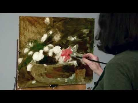 Kathy Anderson, How to Paint Flowers in the Studio - YouTube