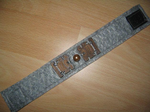 Armbänder - Armband Filz zur Auswahl verstellbar - ein Designerstück von kleine-Traeume bei DaWanda