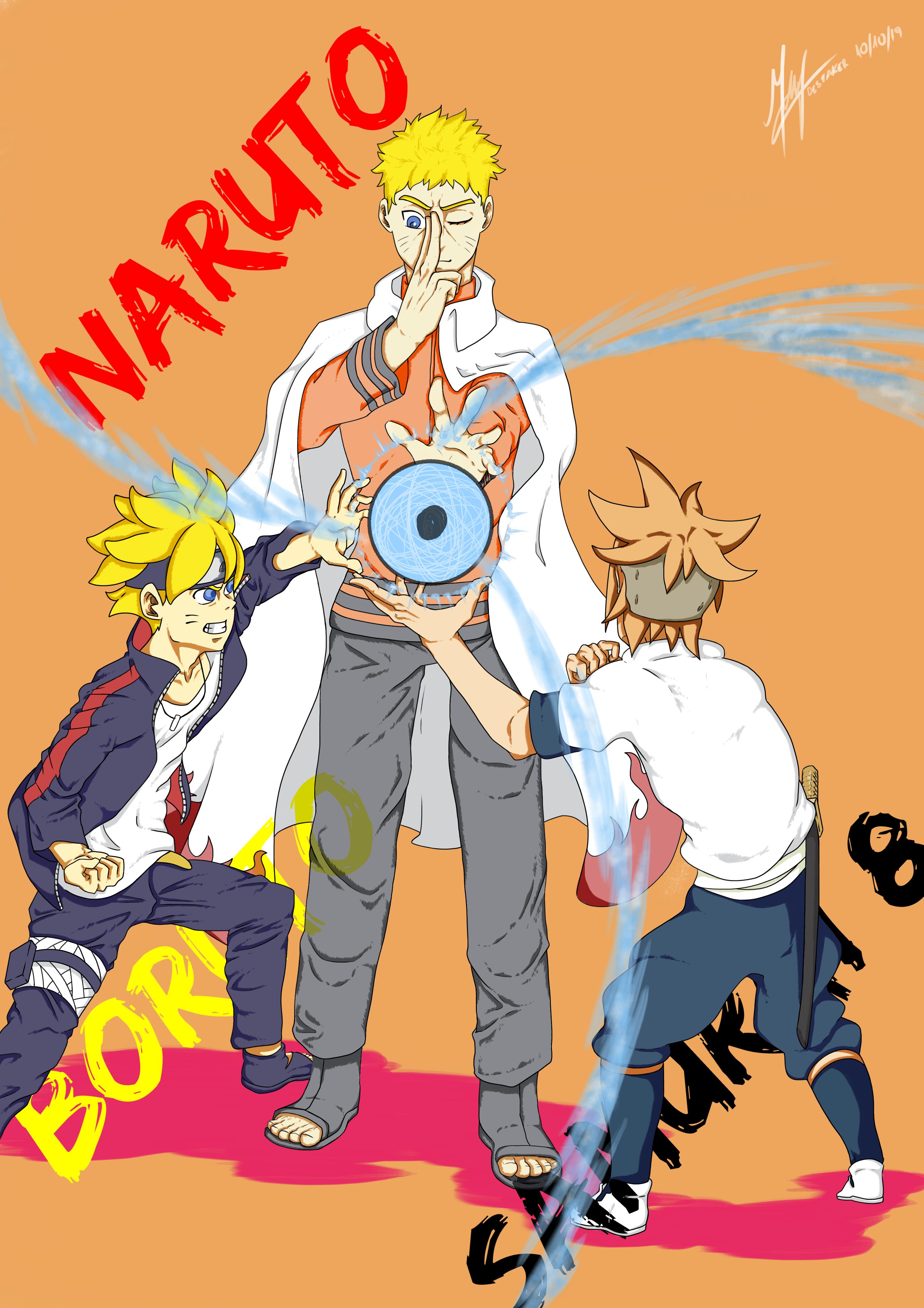 Pin by Erick McGee on Anime in 2020 Samurai, Boruto, Naruto