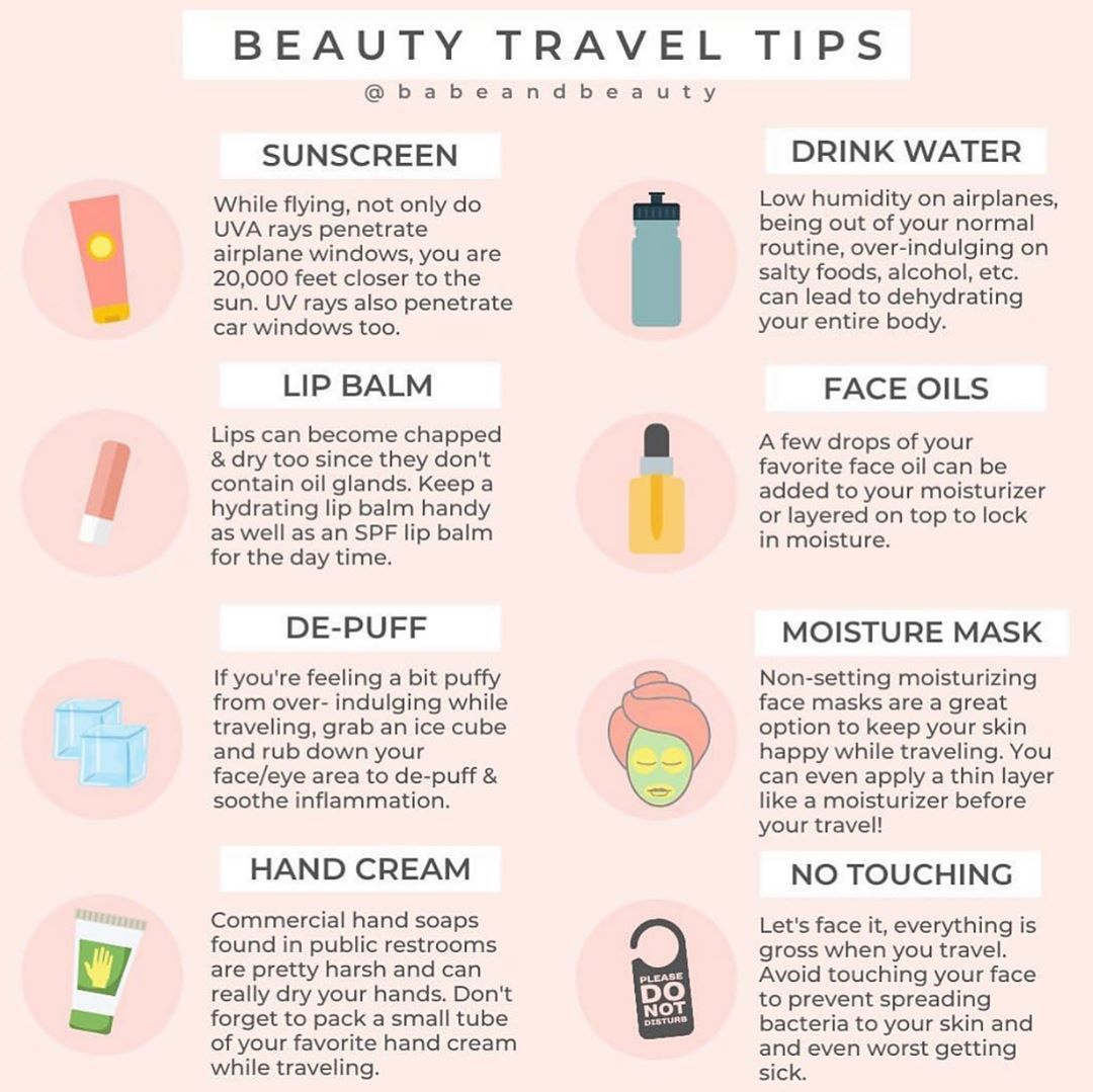 "Mira on Instagram: ""The ultimate travel beauty tips from our fav"