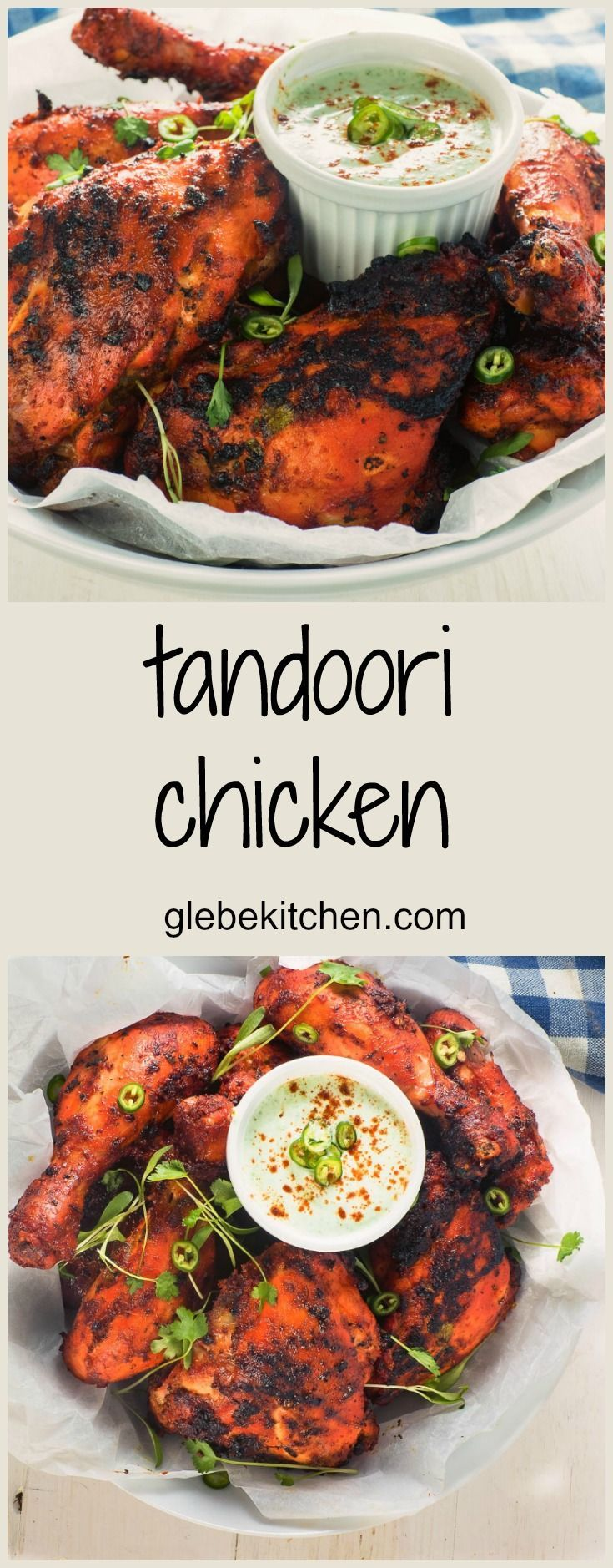 Make juicy, spicy and flavourful tandoori chicken at home. This tandoori chicken recipe will make your tandoori better than what you've had in restaurants.