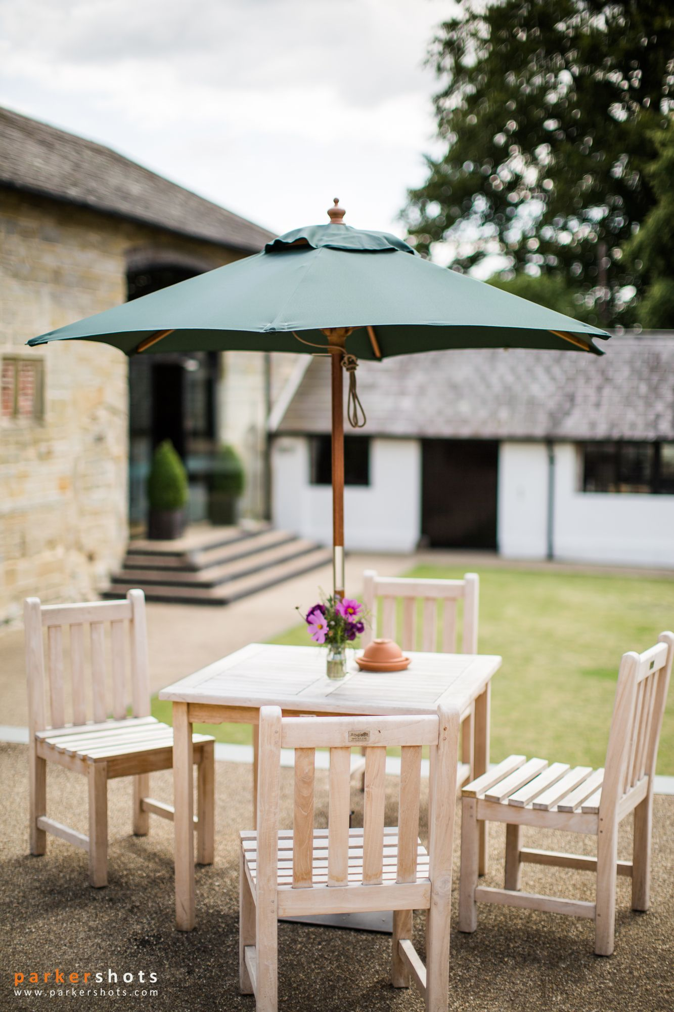 Terrace at Hendall Manor Barns
