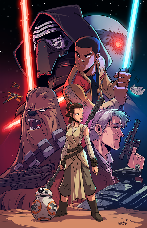 "The Fan Art For ""Star Wars: The Force Awakens"" Is Staggeringly Beautiful"
