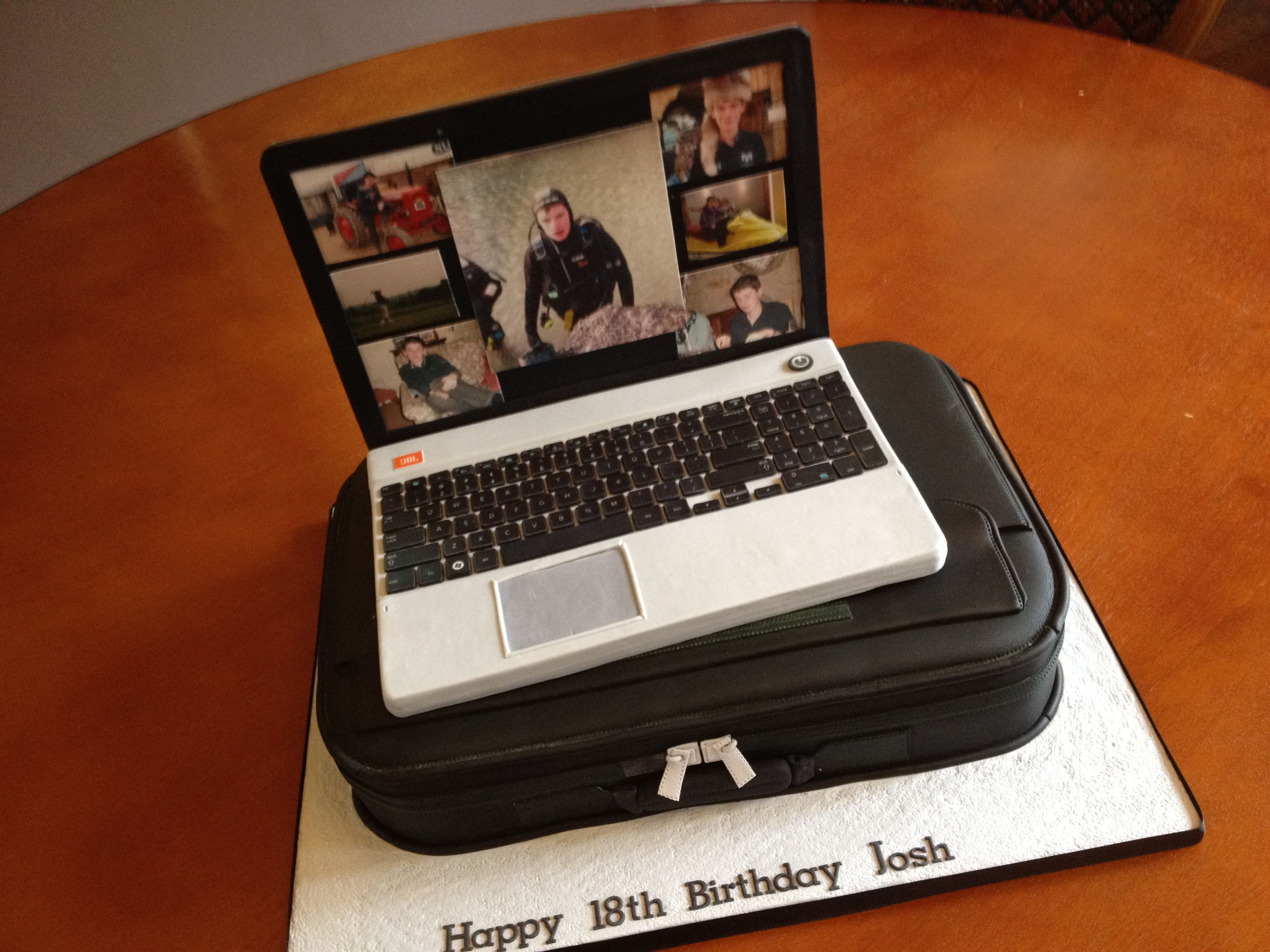 Laptop Cake All Edible