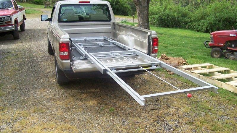 Pickup Cargo Slide Truck bed storage