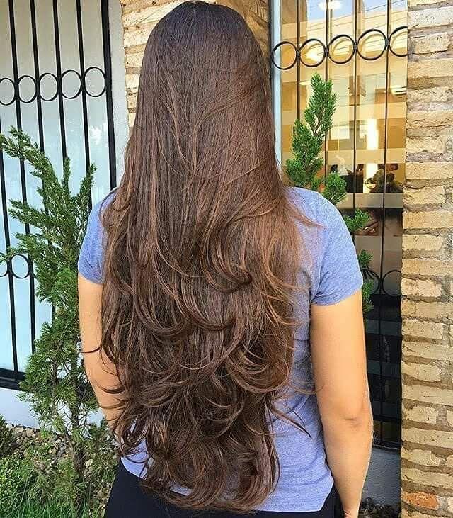 вас как можно подстричь длинные волосы фото видел