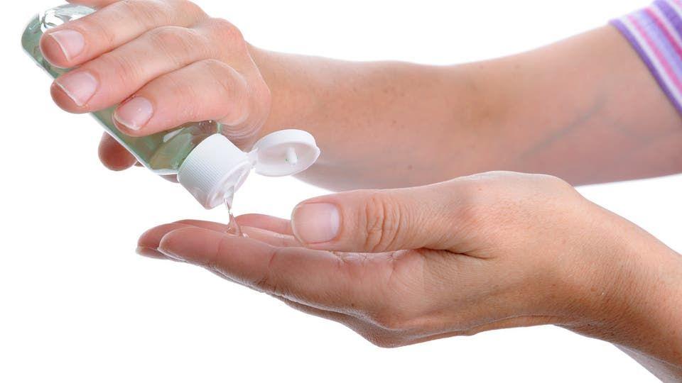 معقم اليدين ليس مفيدا إلا Natural Hand Sanitizer Hand Sanitizer