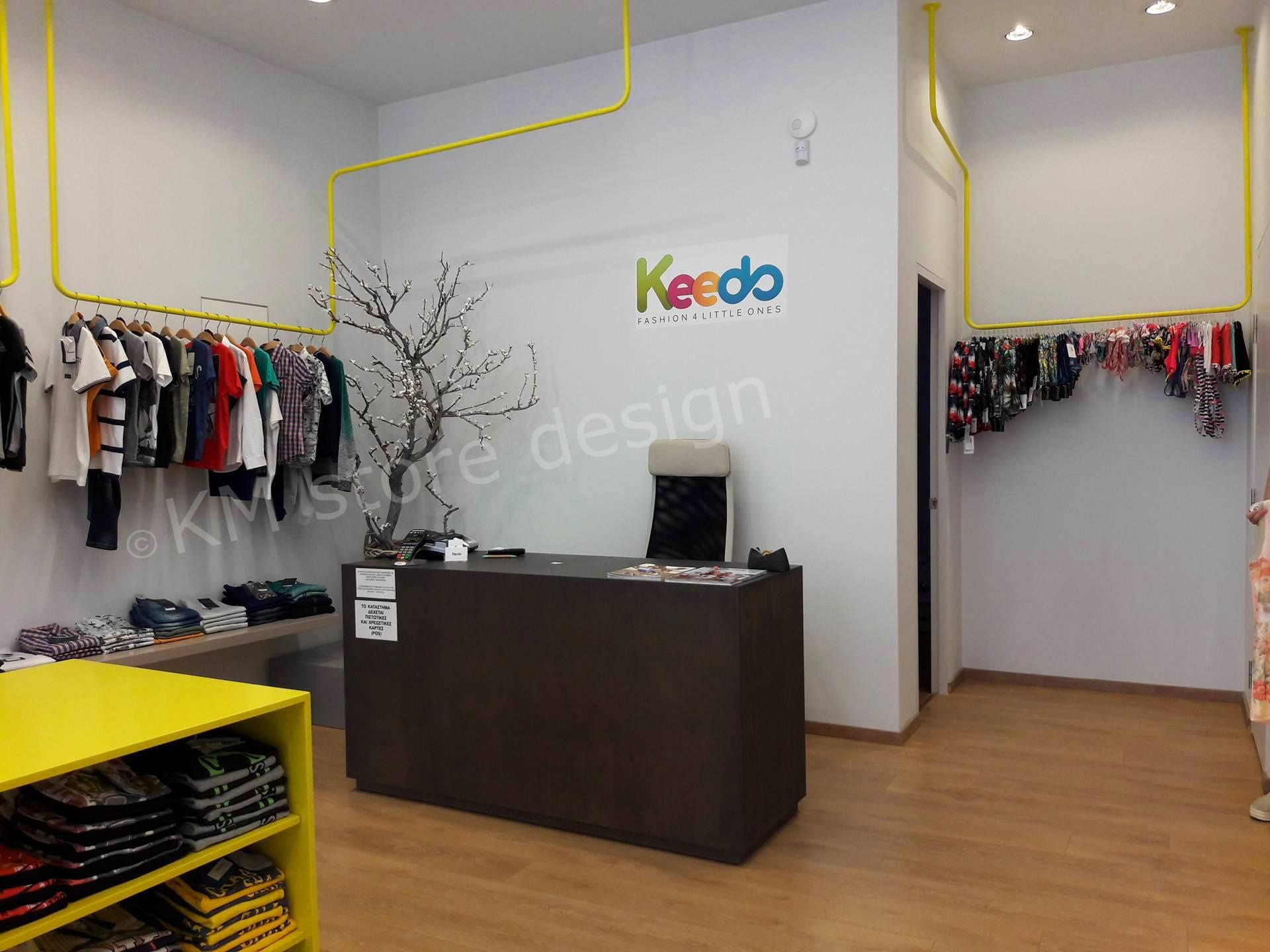 eab7a04a097 Η KM store design έφερε εις πέρας τον εξοπλισμό καταστήματος με παιδικά  ρούχα στο Μαρούσι.