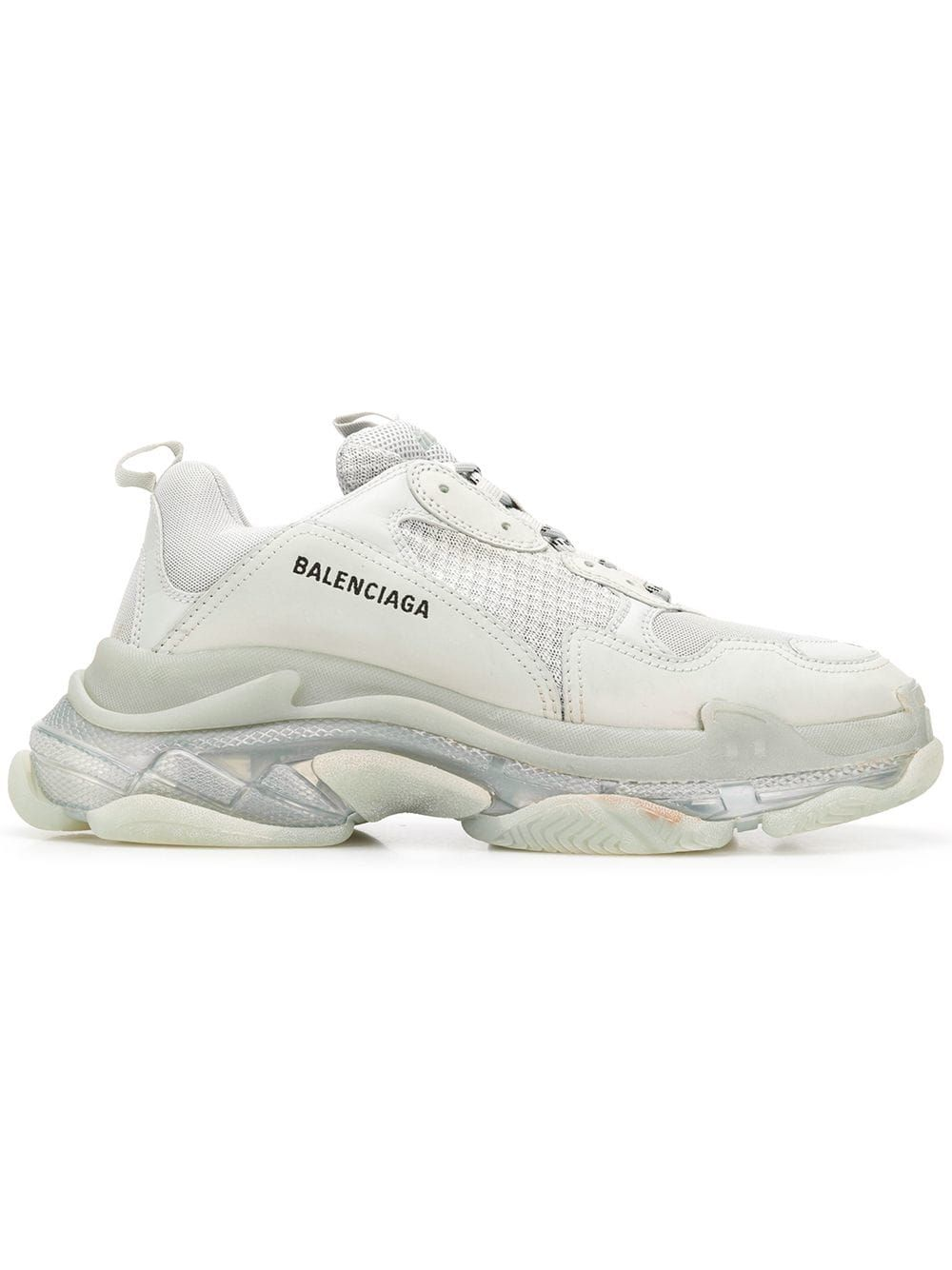 4d89f9e02ea2f BALENCIAGA BALENCIAGA TRIPLE S CLEAR SOLE - GREY.  balenciaga  shoes ...