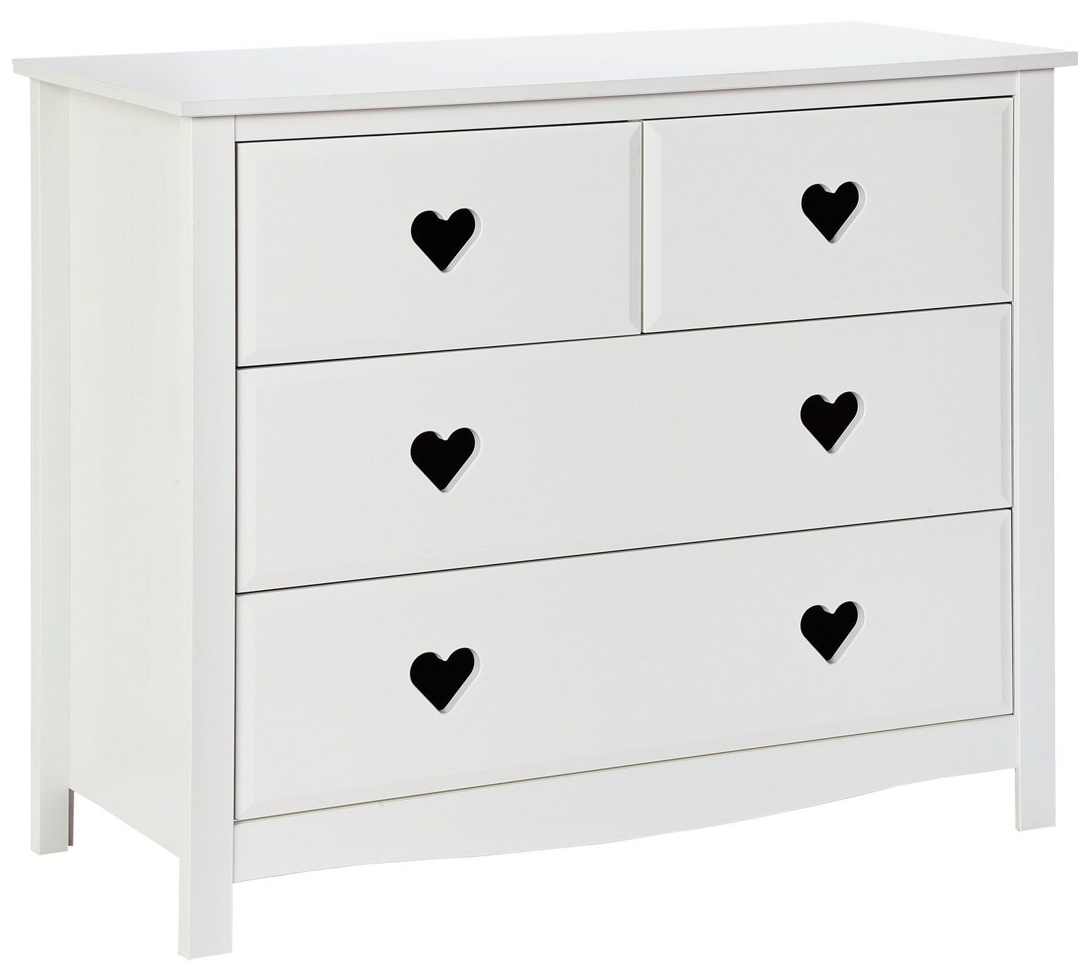 Buy Argos Home Mia 2 2 Drawer Chest White Kids Chest Of