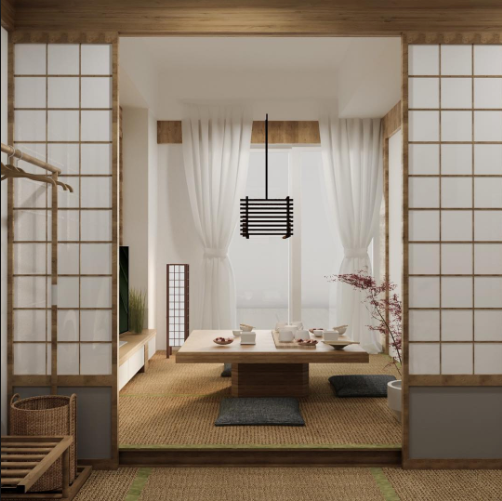 How To Create A Japanese Bedroom And Home Simple Design Tips Ideas Bedlyft Japanese Style Bedroom Japanese Bedroom Living Room Japanese Style