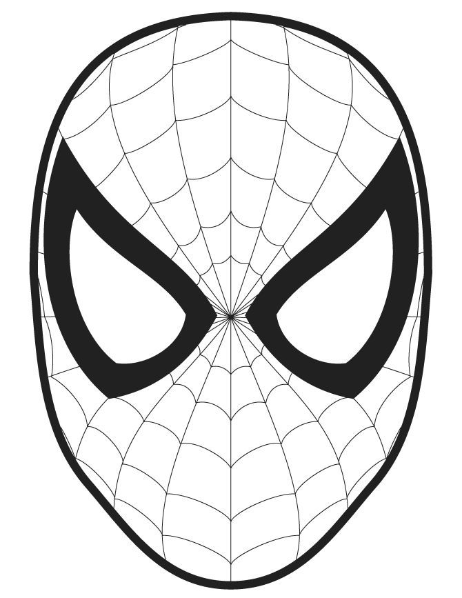 437164eeaecf13ec329b94e816b8926b--spiderman-face-face-templatejpg - fresh spiderman coloring pages for toddlers