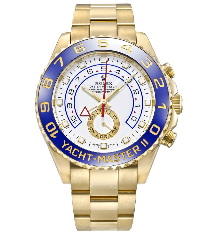 Rolex Yacht-Master II 18k Yellow Gold Watch