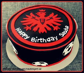 Eintracht Frankfurt Kuchen Schablone