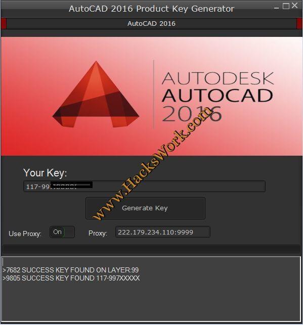 autocad 2016 activation code keygen