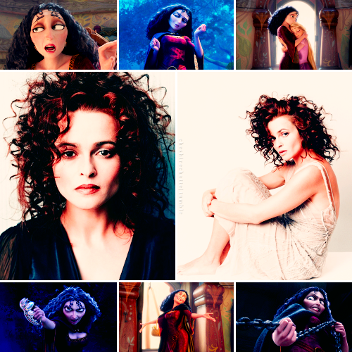 Disney Dreamcast | Helena Bonham Carter as Mother Gothel