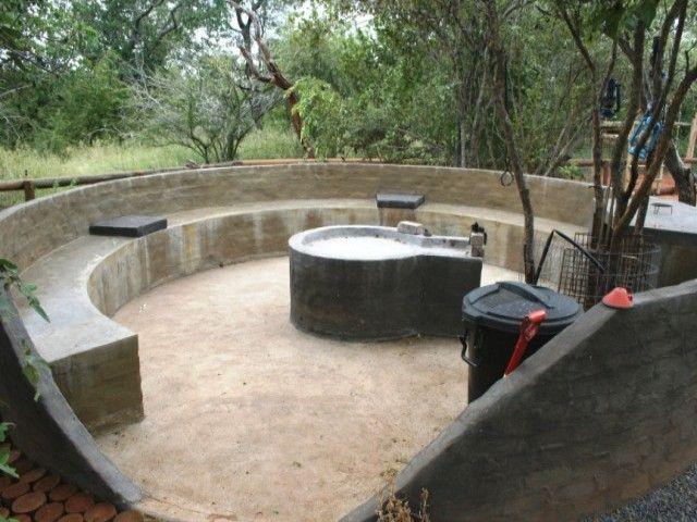 diy bonfire seats the built in entertainment area of this braai is what makes it