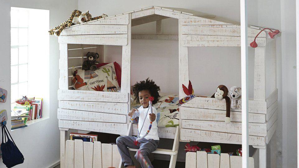 Dans Cette Chambre De Petit Garçon Les Idées à Retenir Lit - Lit cabane petit garcon