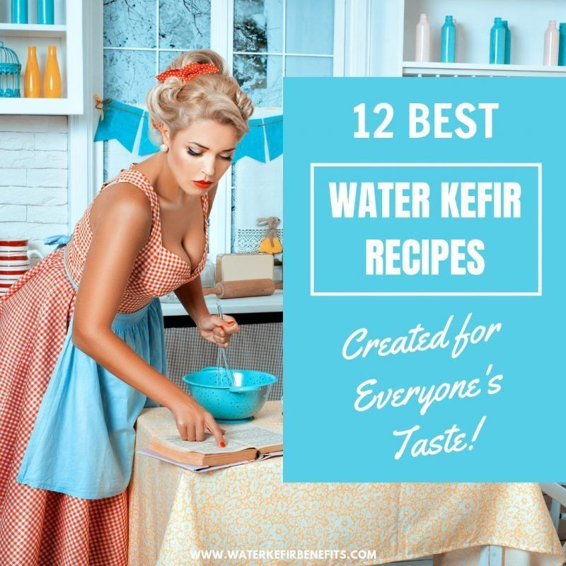 how to make water kefir from scratch