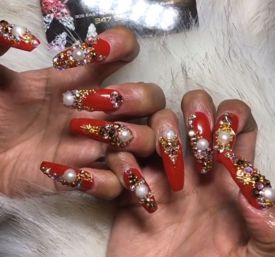 Pic 2 Of Cardi b Nails Follow Me @Hair,Nails, && Style ! | N A I L S ...
