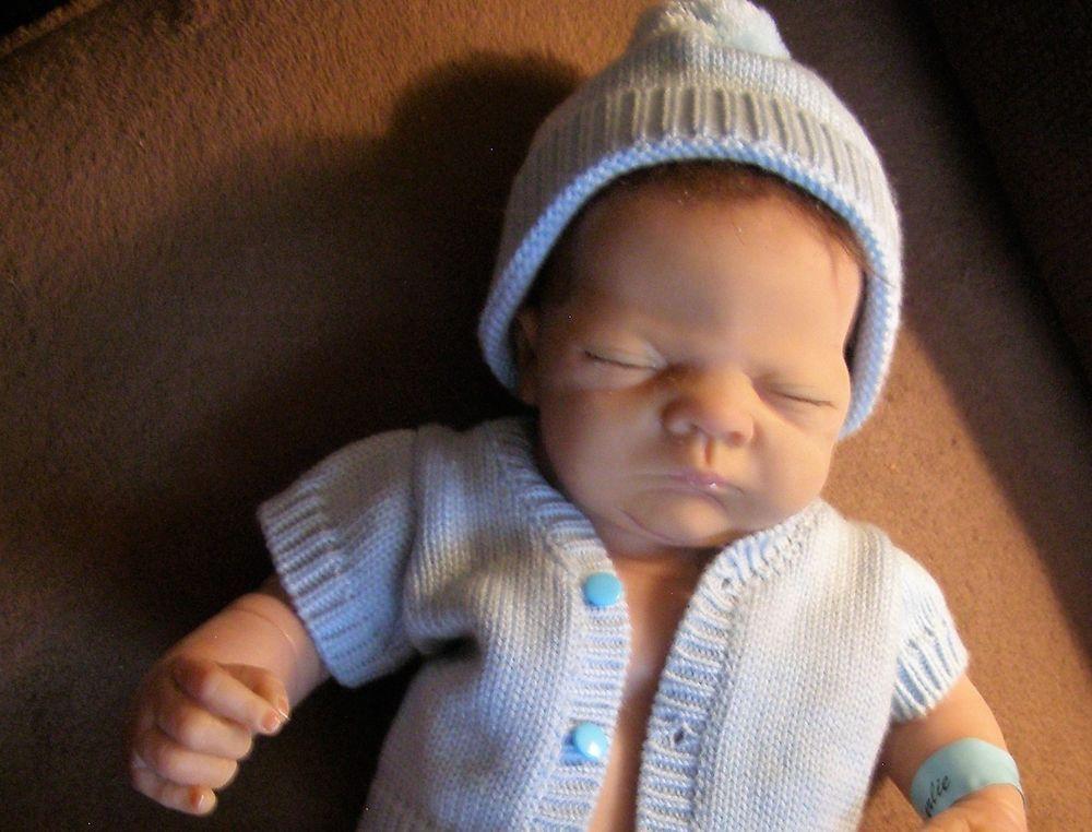 Real Babyzimmer ~ Charlie boy doll linda webb ashton drake truly real baby