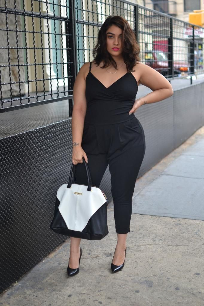 6aa71c34dcd Stitch fix  first jumpsuit i have ever seen that i love! Also Nadia is just  damn hot.