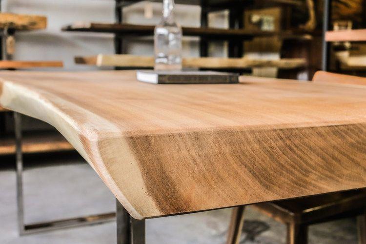 Suar Wood Table Top X Herman Furniture Singapore Wood Slab Table
