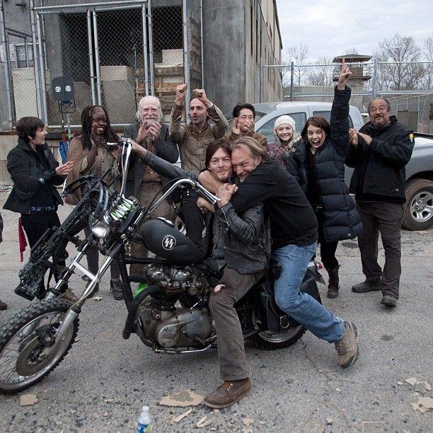 The Walking Dead, Season 3! & That's a wrap!