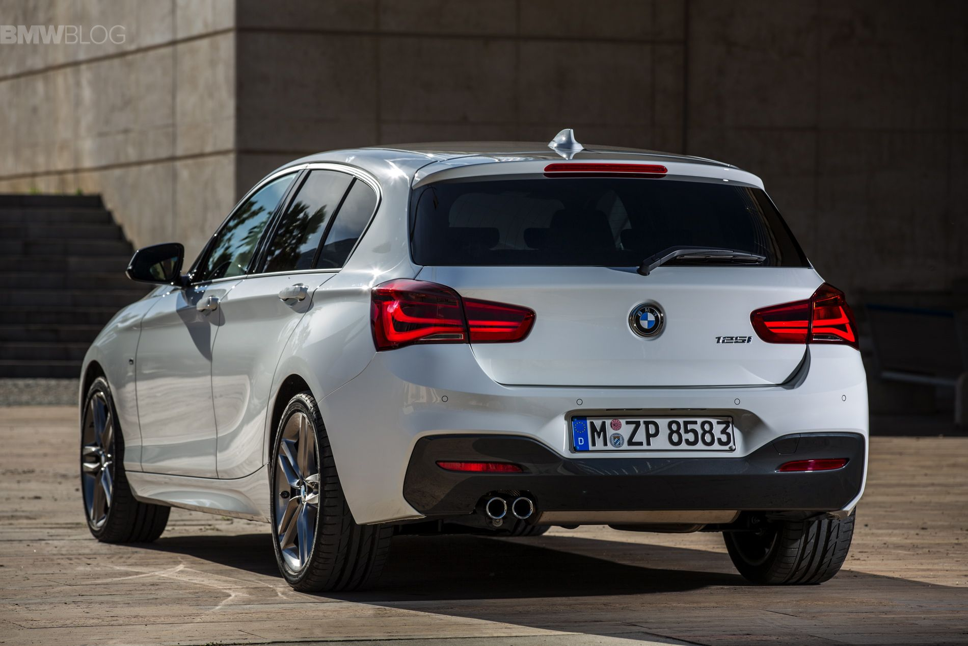 2015 BMW 1 Series Facelift with M Sport Package Bmw 1