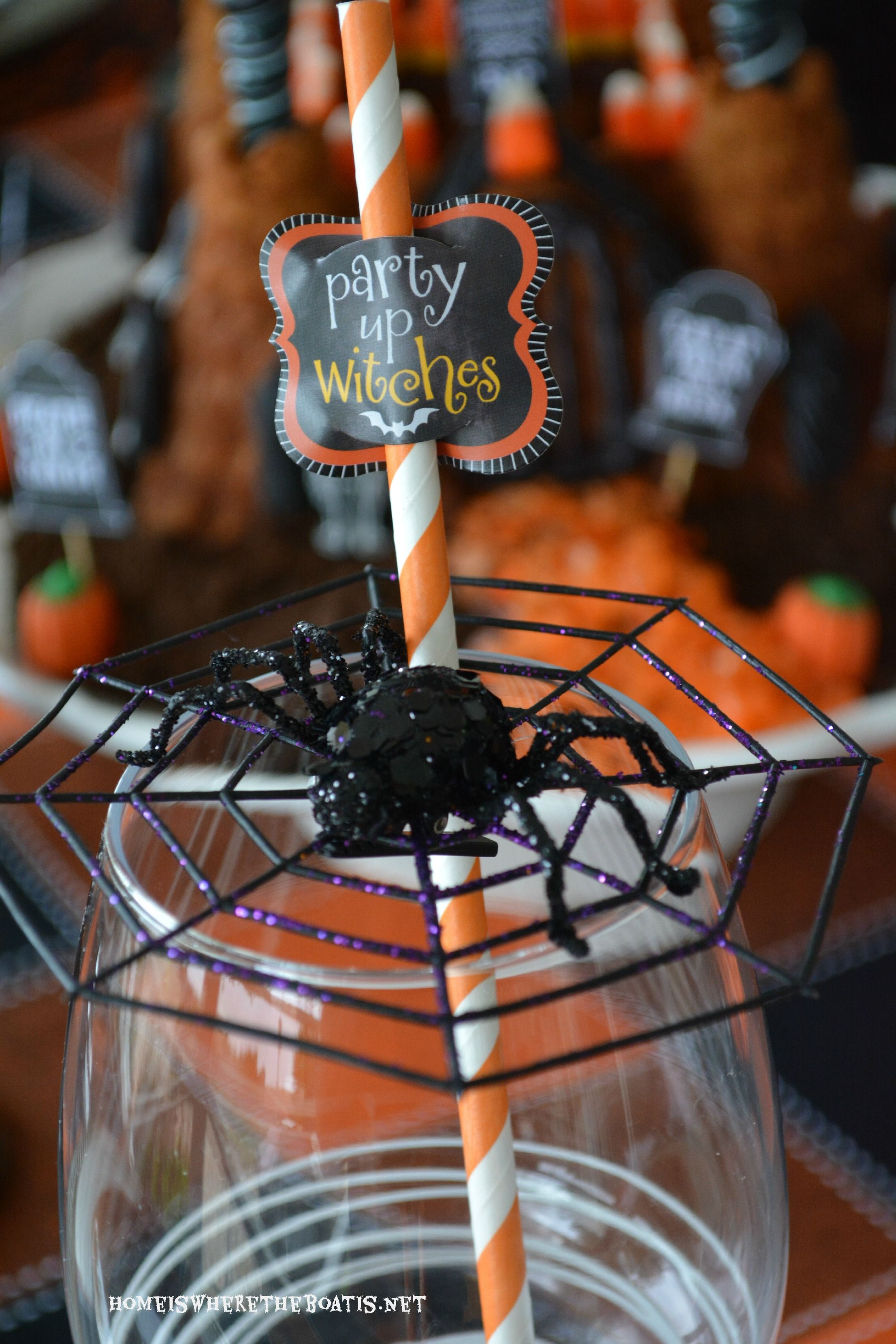 The Witching Hour Halloween Tablescape (With images