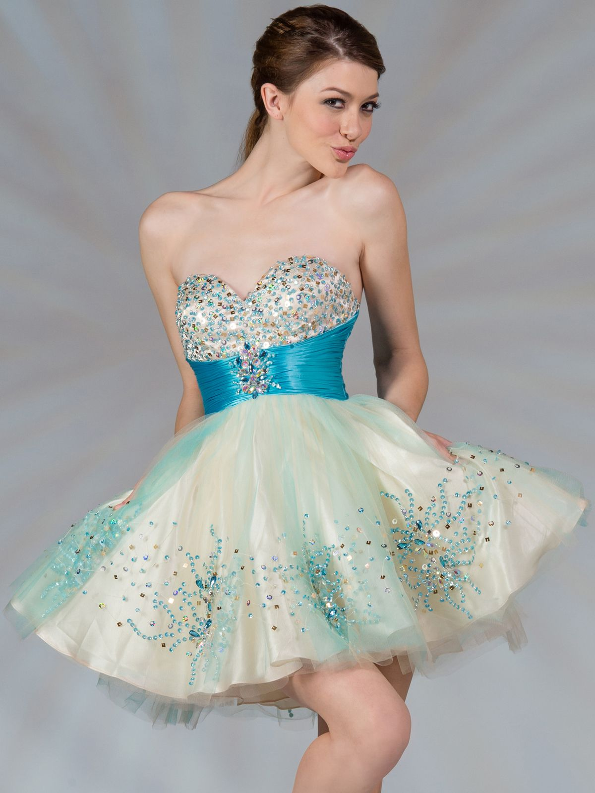 78 Best images about Lovely Short Prom Dresses For The Beautiful ...