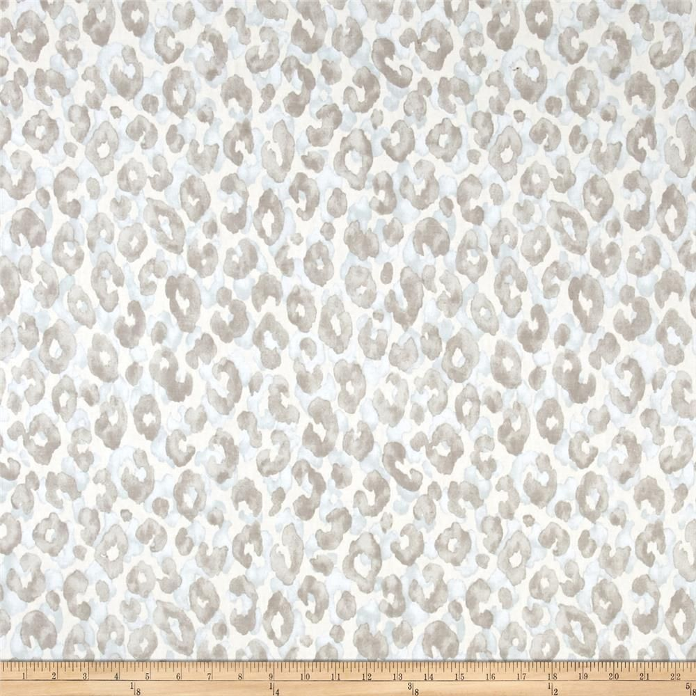 Cheetah Duck Blue Brown From Fabricdotcom This Lightweight Duck Fabric Is Printed With An Animal Print Desi Discount Fabric Pinch Pleat Curtains Fabric Decor