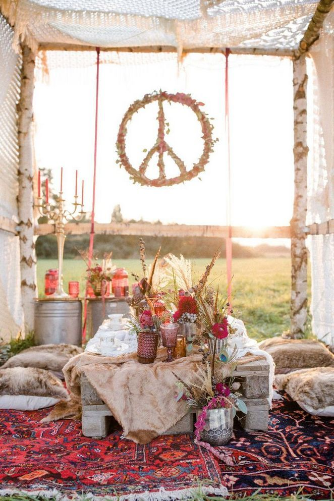 21+ Hippie Wedding - the Story #hippie