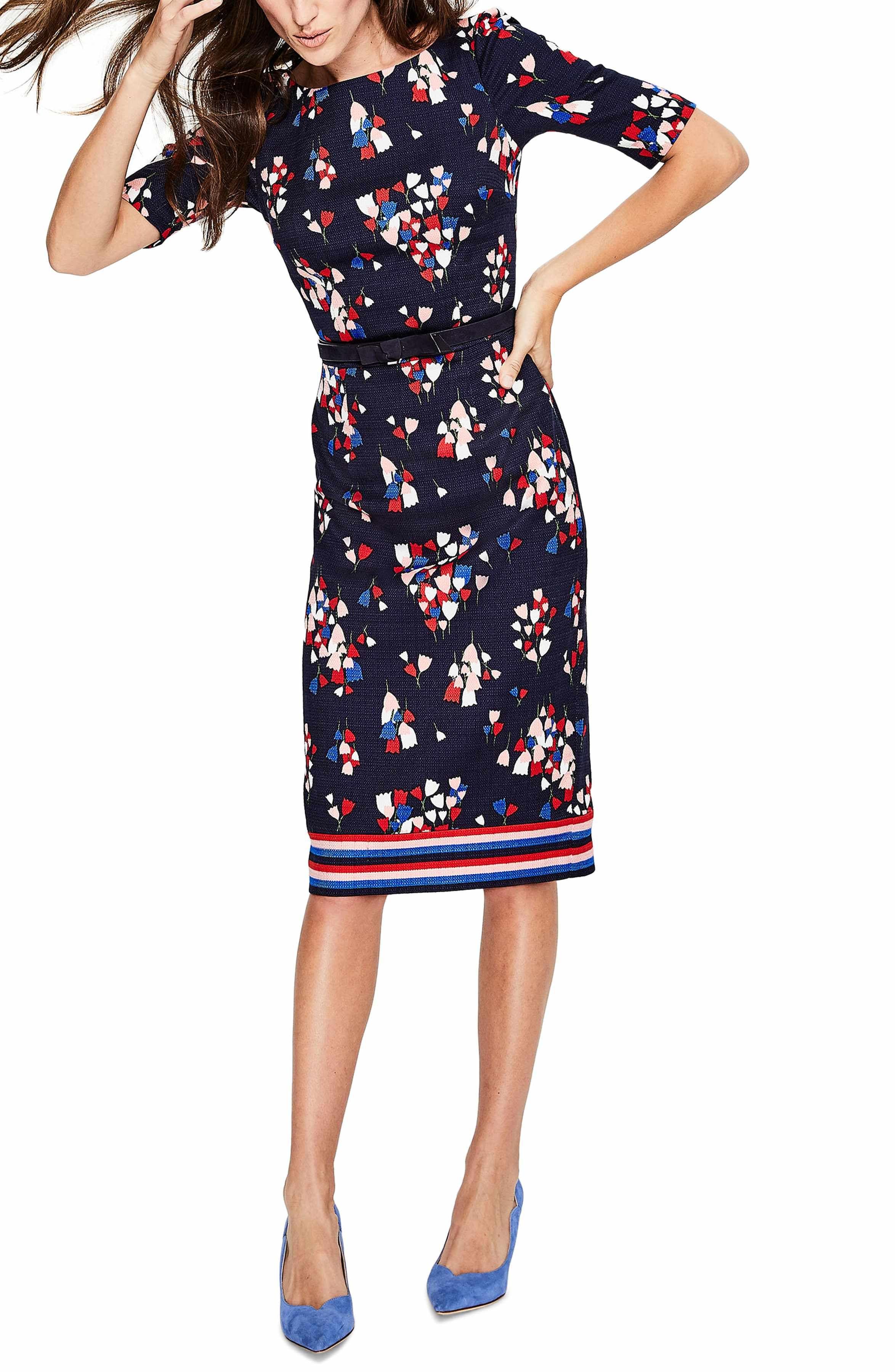 6fa74a7993f2 Main Image - Boden Fleur Sheath Dress Dresses For Work