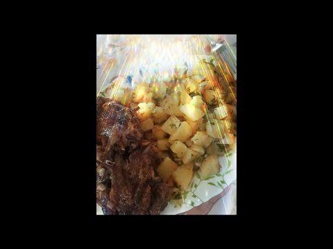 Melissa kahina Pomme de terre sautée بطاطا سوتيه بالثوم والاعشاب العطرية - YouTube