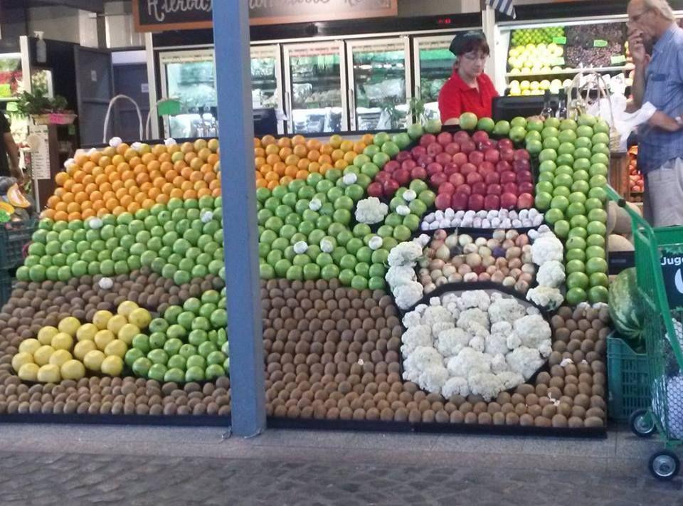 Pin De Alexandra Tobias Em Uruguay Hipermercados Frutas Criatividade