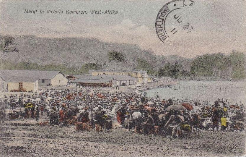 Mercado en Victoria (1911)