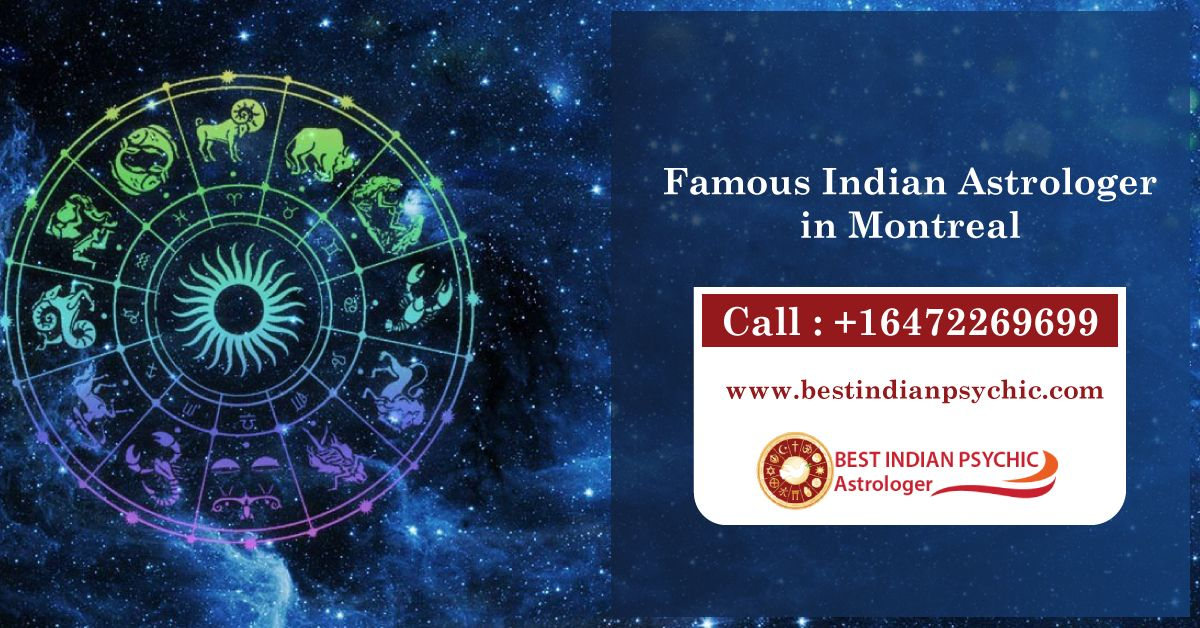 Looking for Famous Indian Astrologer in Montreal who is