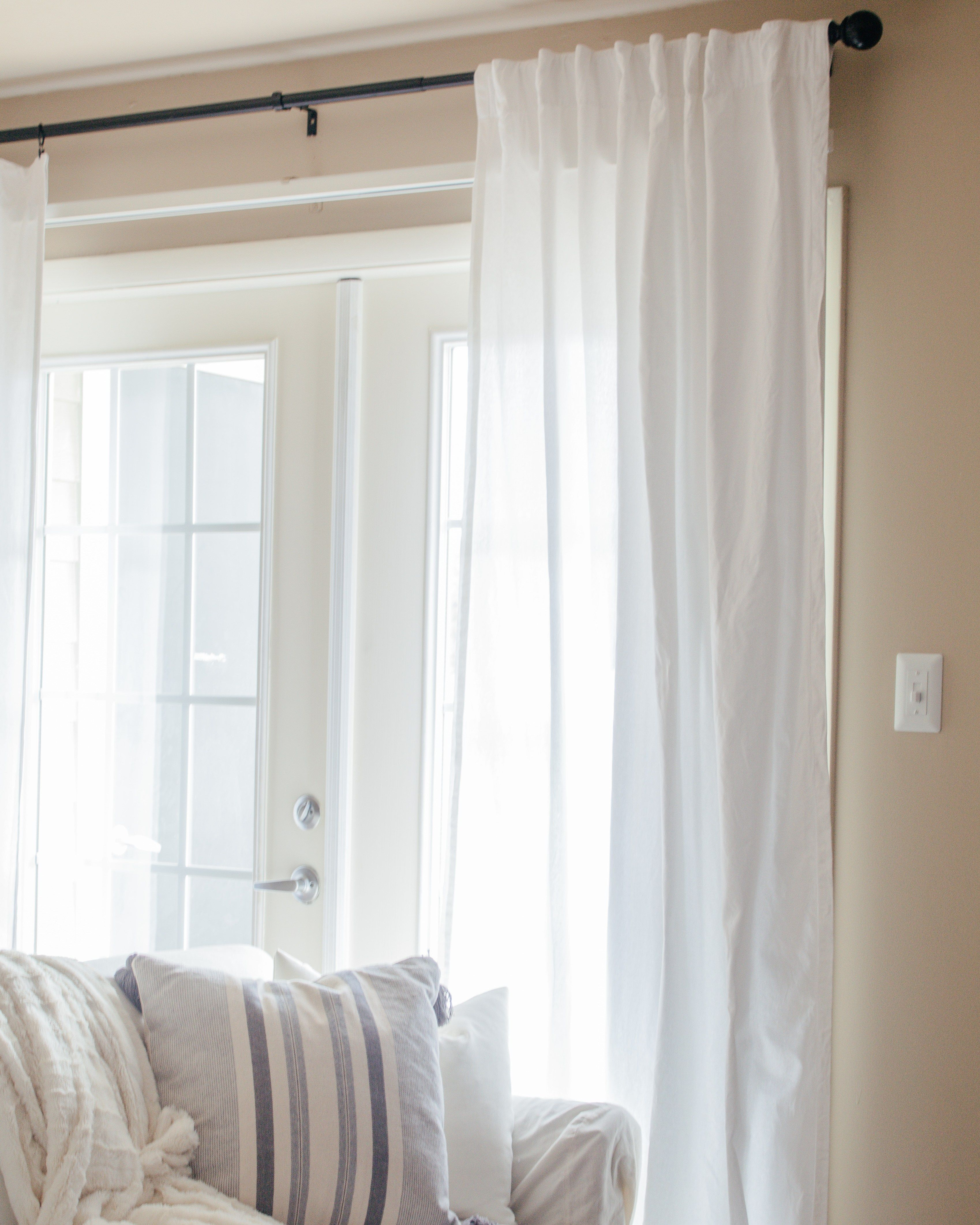 How To Cover The Vertical Blinds In Your Apartment With Images